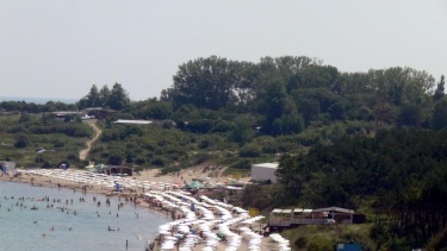 Централният плаж в Лозенец