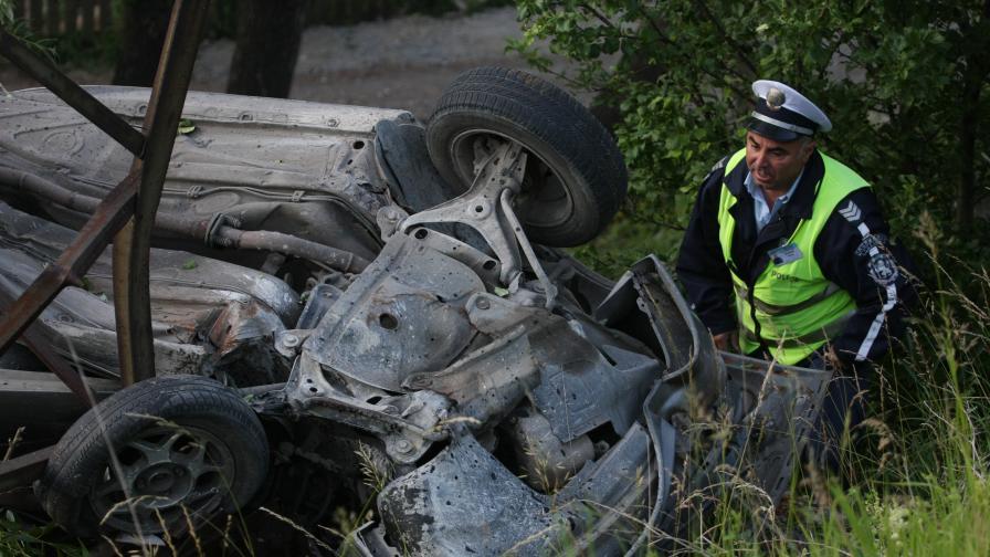"Пет жертви на катастрофа по АМ ""Хемус"""