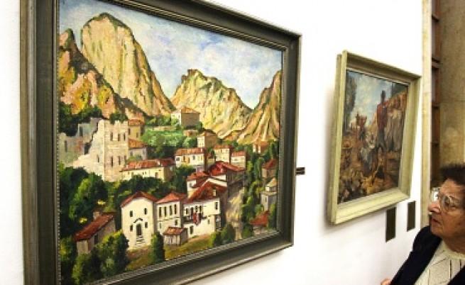 Творби на Йоан Левиев в изложбата