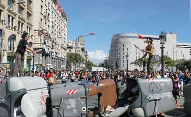 Стачки парализираха Европа