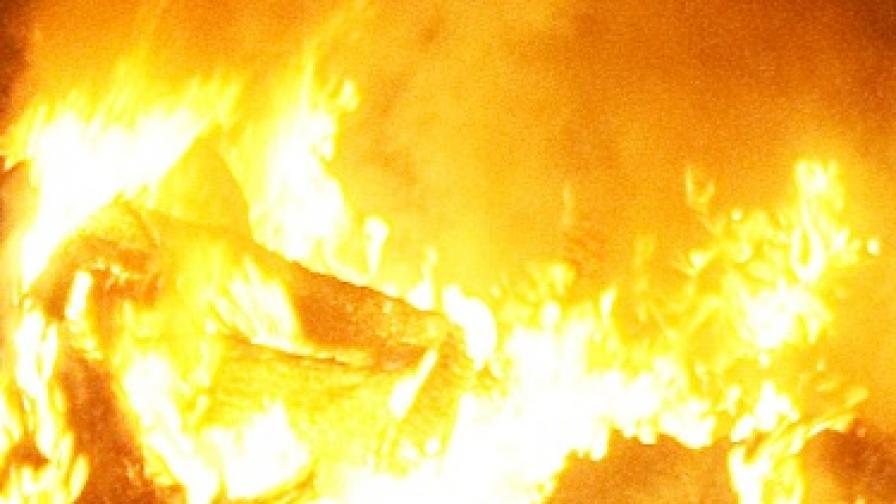 """Пожар унищожи половината сгради в манастир """"Св. Петка"""""""