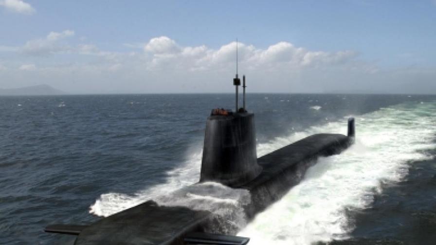 """Британската ядрена подводница """"Астют"""""""