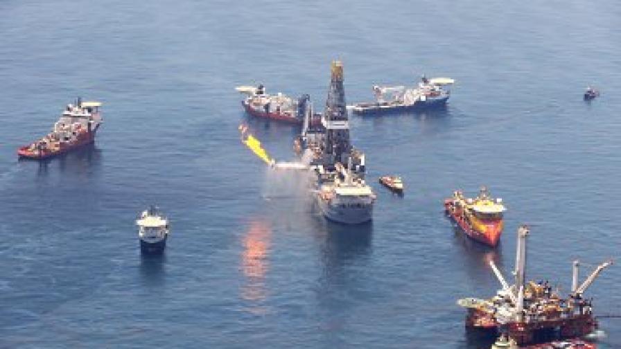 Районът на петролния разлив в Мексиканския залив - зона за сигурност
