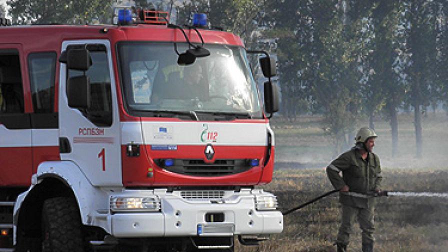 Пожарът в района на Етрополе е локализиран