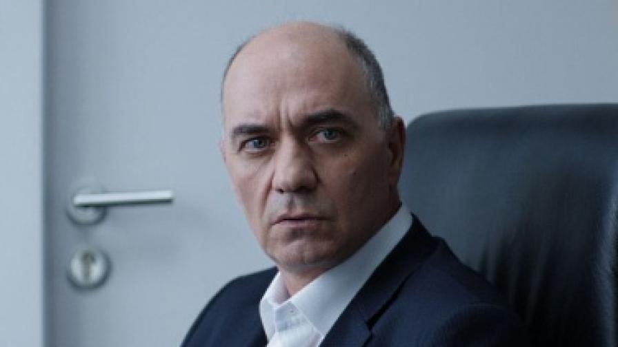 Актьорът Георги Карудин в образа на Христо Атанасов