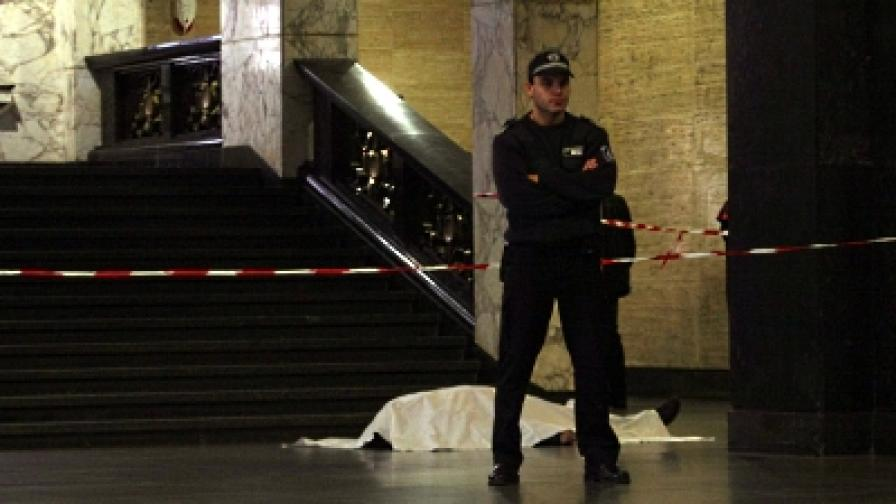 Мъж почина в Съдебната палата в София
