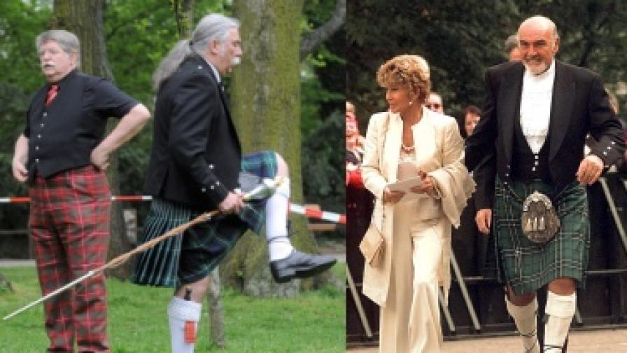 Шотландците вече с бельо под килта