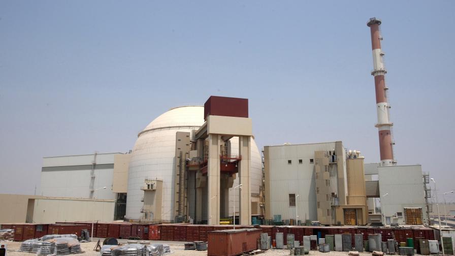 Реакторът в Бушер