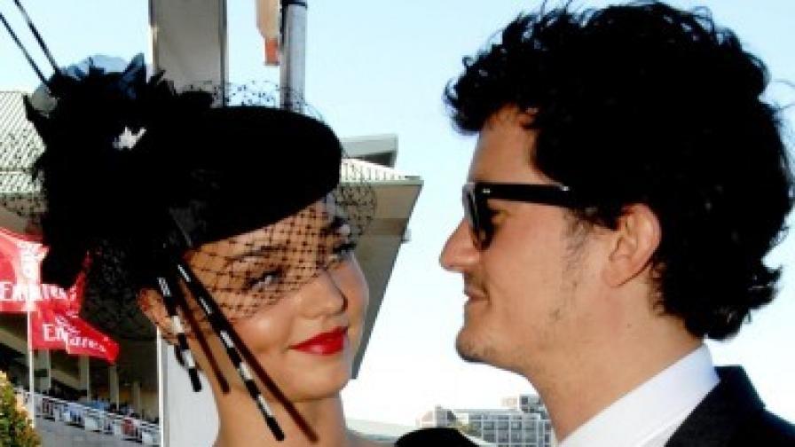 Орландо Блум и Миранда Кер изненадаха всички с тайна брачна церемония