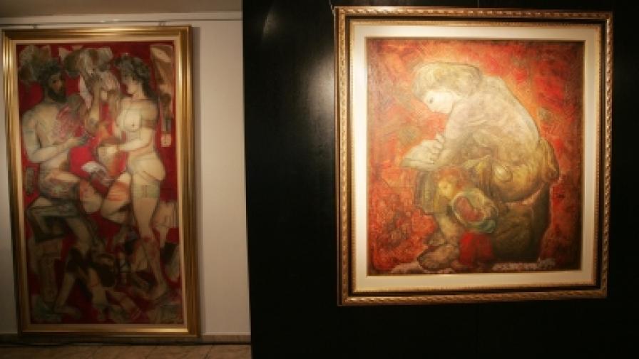 """16 живописни платна на Димитър Казаков-Нерон са изложени в Галерия """"Средец"""" на Министерството на културата"""