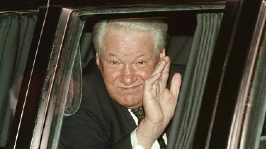 Елцин почина на 23 април 2007 г.