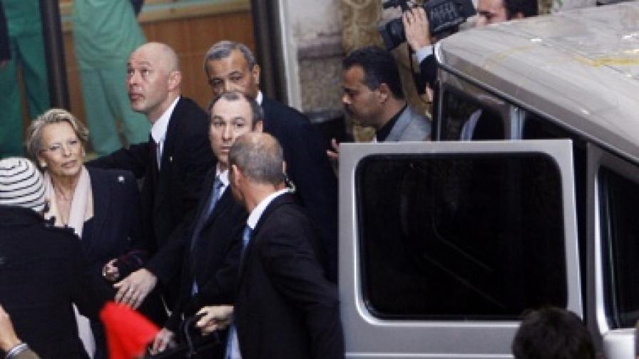 Протести съпътстваха визитата на френския външен министър в Газа