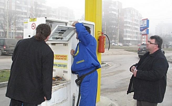 Първи опит за измама на данъчните в бензиностанция