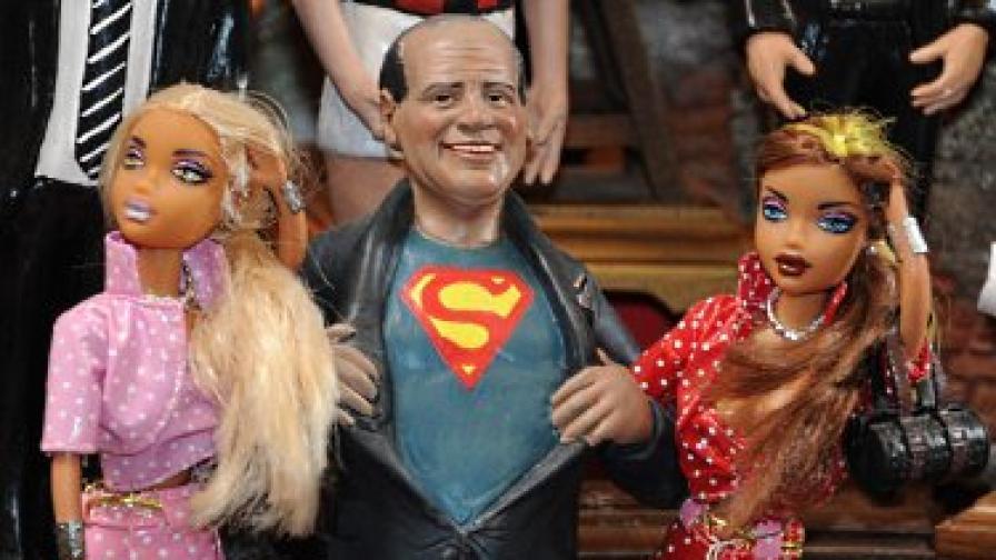 Подвизите на Берлускони дават разпалват въображението на италианските артисти