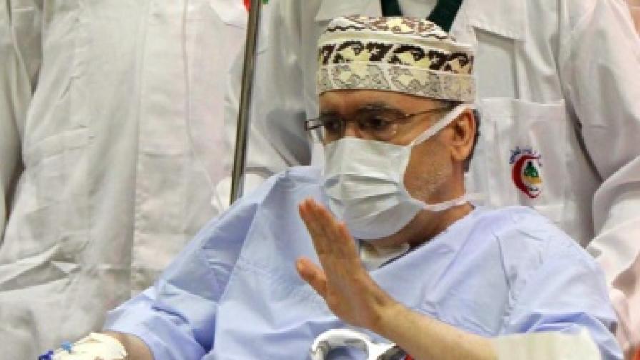 Абдел Басет ал Меграхи при освобождаването си