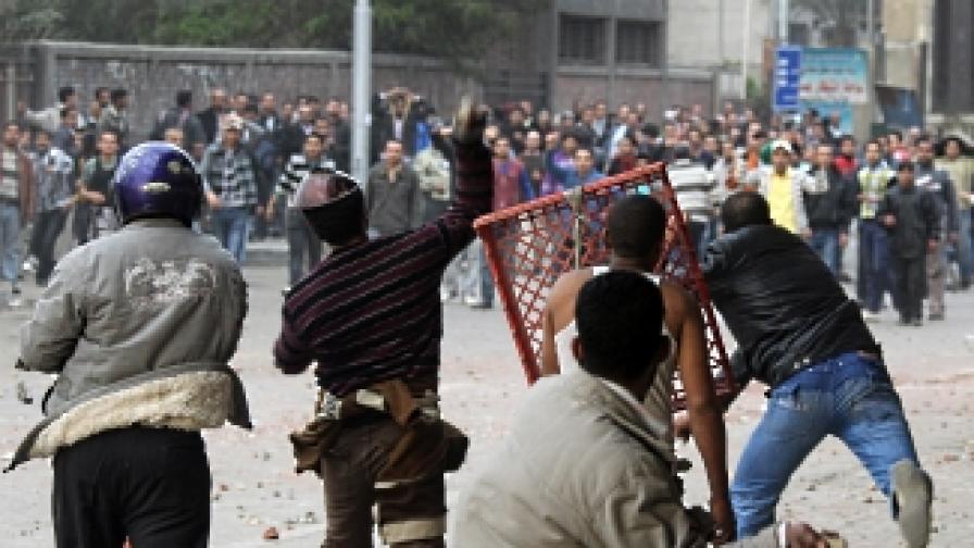 Кайро, 3 февруари 2011 г. - Президентът Мубарак се опасява от хаос...
