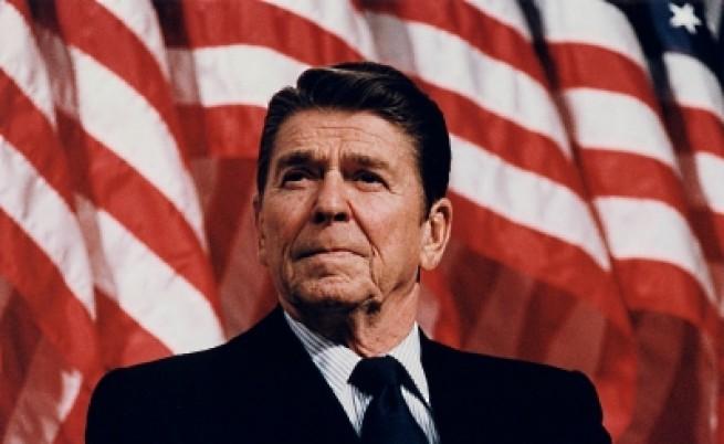 40-ият президент на САЩ Роналд Рейгън (1981-1989)