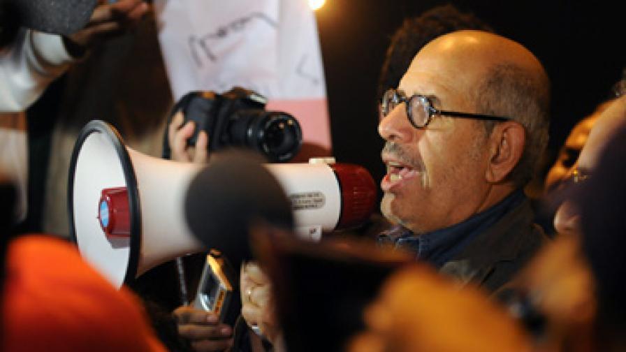 Носителят на Нобелова награда за мир Мохамед ел Барадей
