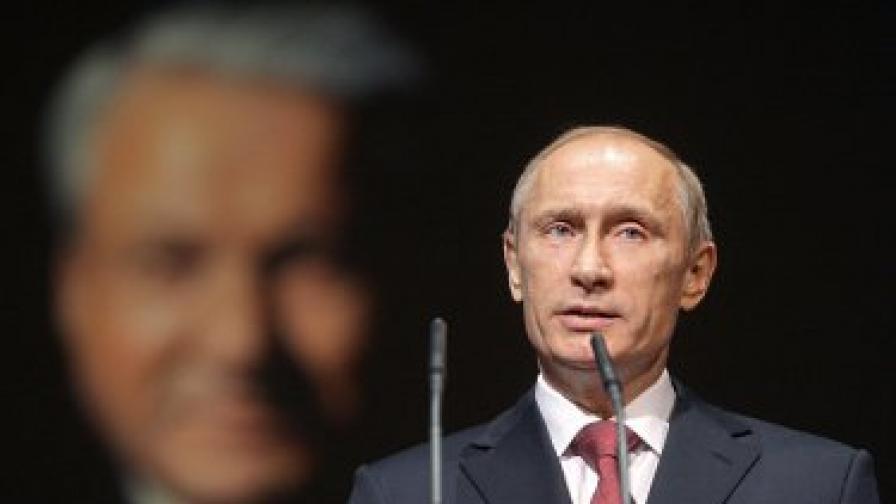 4446-метров Путин се извисява в Киргизстан