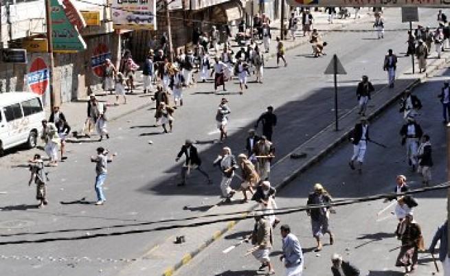 Петима загинали в протестите в Йемен