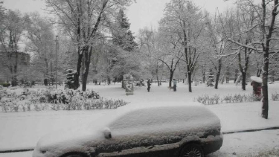 Сняг и лошо време днес
