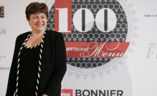 Кристалина Георгиева - най-влиятелната жена у нас
