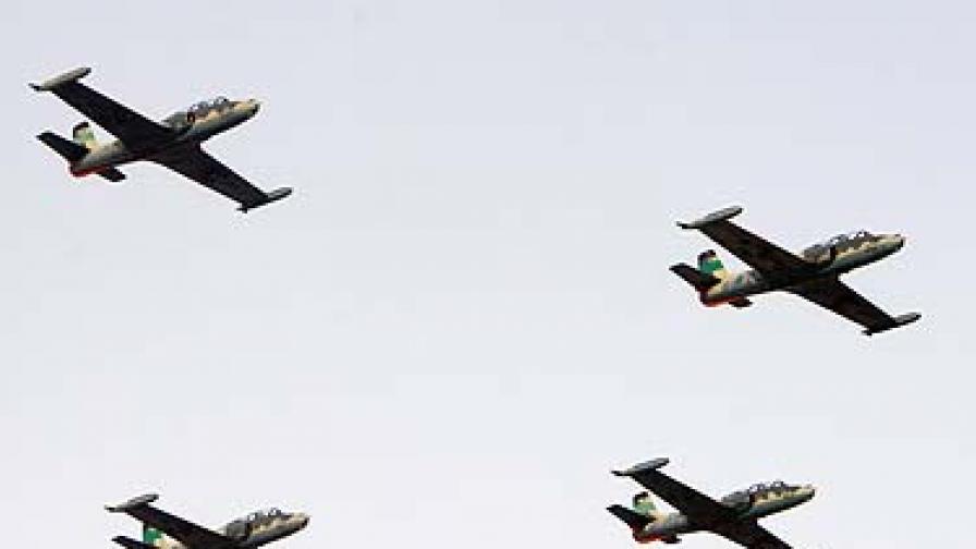Либийски военни самолети