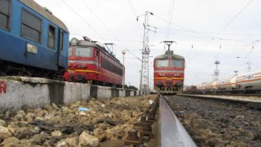 Влак прегази човек преди пернишката гара Разпределителна