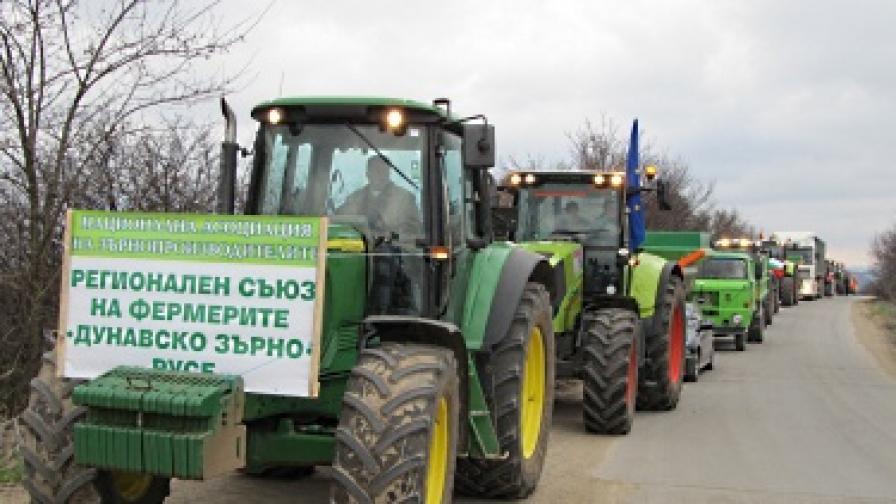 Зърнопроизводителите на протест, искат оставки