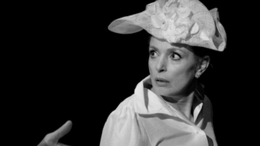 """Бойка Велкова  в """"Чайка"""" от А.П. Чехов, постановка на К. Азарян"""