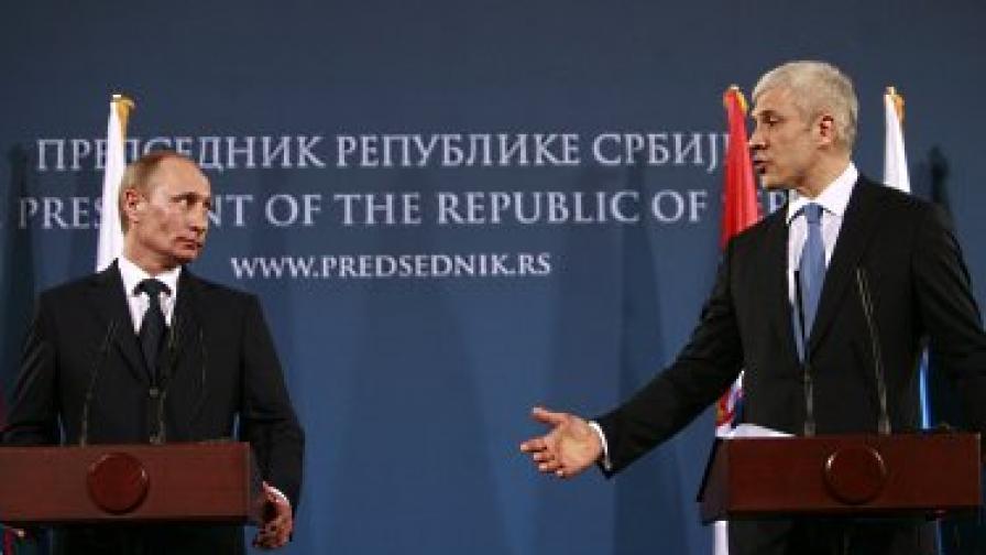 """""""Неприятелското"""" посещение на Путин в Белград"""