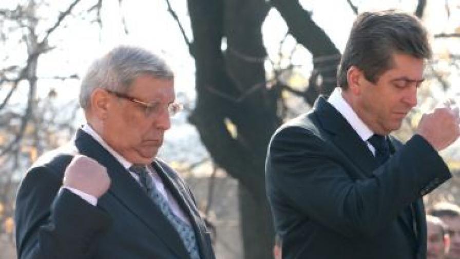 Първанов: Подценяват се заплахите за сигурността