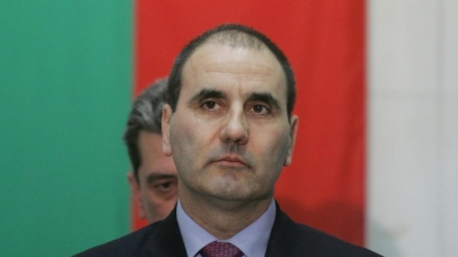 Вицепремиерът и министър на вътрешните работи Цветан Цветанов
