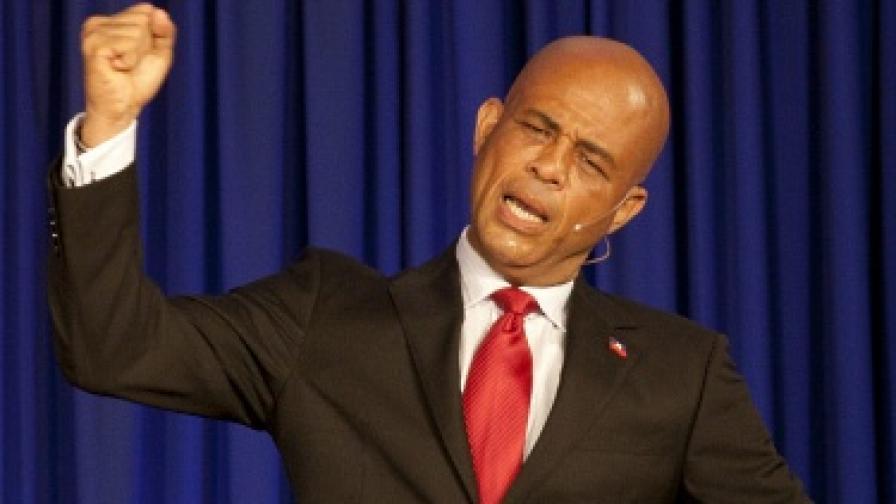 Поп звезда стана президент на Хаити