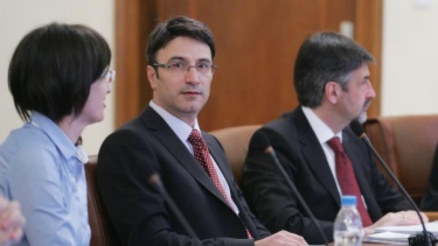Трайчо Трайков по време на днешното заседание на Министерския съвет