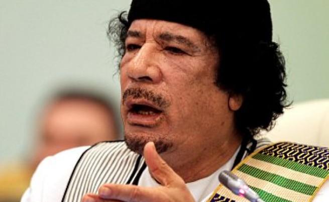 Трите условия на Кадафи, за да си отиде