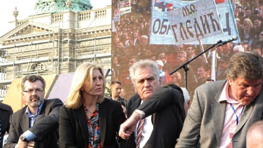 Сърбия: Томислав Николич обяви гладна стачка