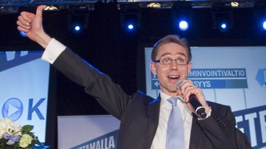 Водачът на консерваторите Юрки Катайнен