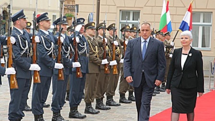 Борисов в Хърватия: У нас се живее добре