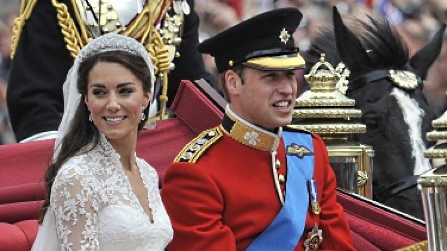 Кралската сватба - зрелище за 5 млрд. лири