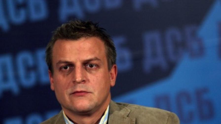 Петър Москов напусна изборния щаб на ДСБ, за да се състезава за кмет