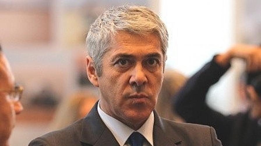 Министър-председателят на Португалия Жозе Сократиш