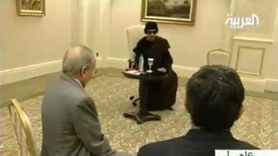 Очаква се заповед за арест на Кадафи
