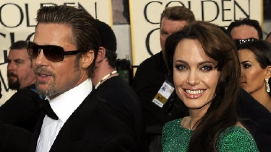 Френска секретарка съди Джоли и Пит