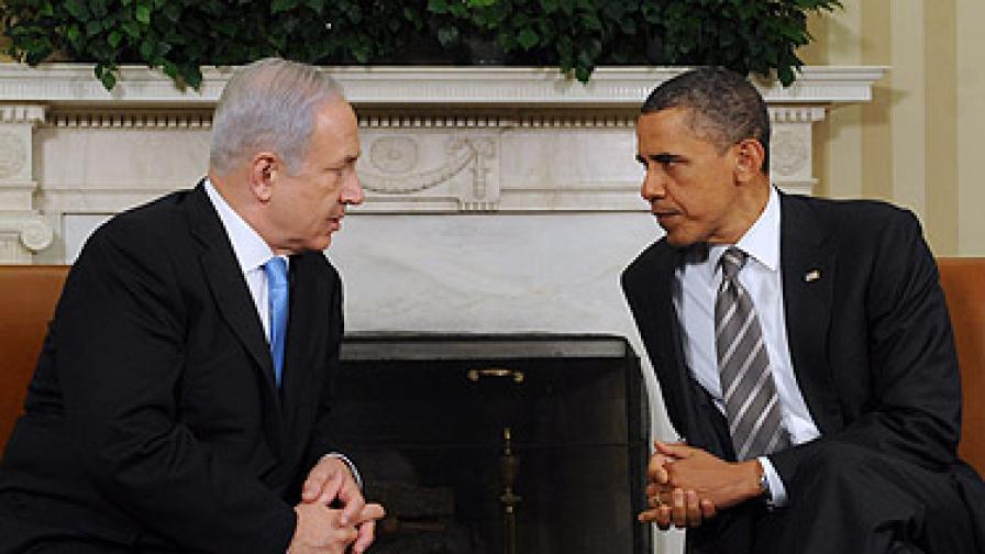 Нетаняху отхвърли идеята на Обама за границите на Израел