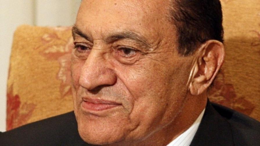 Екстремисти опитали 12 пъти да убият Мубарак