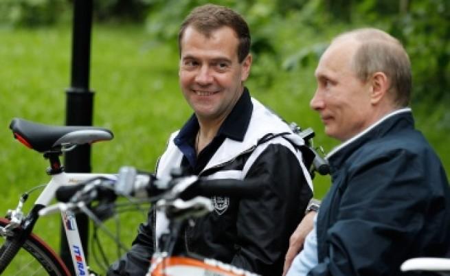Нямало разцепление между Медведев и Путин