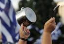 Един от многобройните протести срещу финансовата криза в Гърция