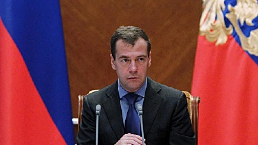 Медведев иска изтегляне на самолетите Ту-134