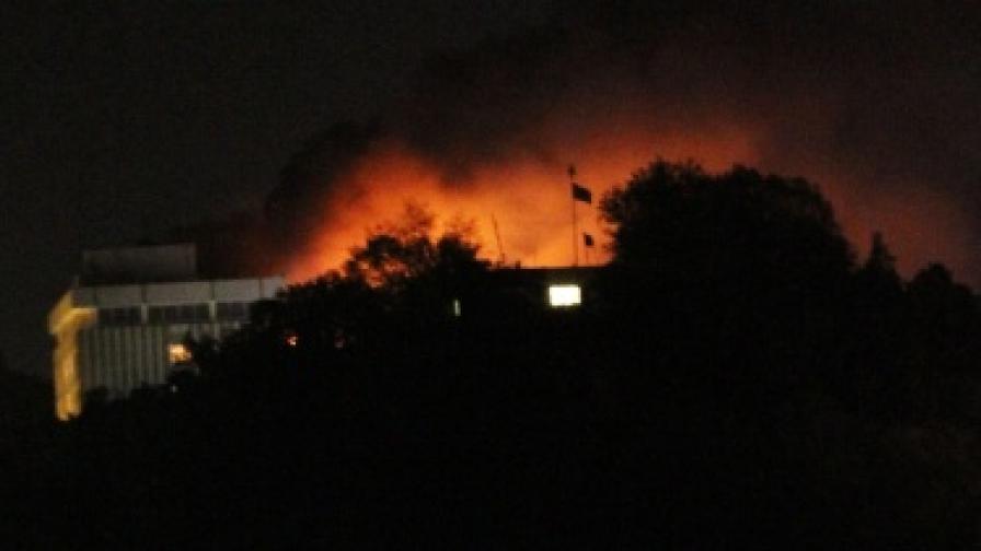 Талибани атакуваха хотел в Кабул, има жертви